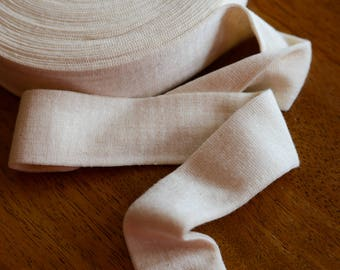 """2"""" Cotton Stockinette for Doll Making - 1 Yard"""