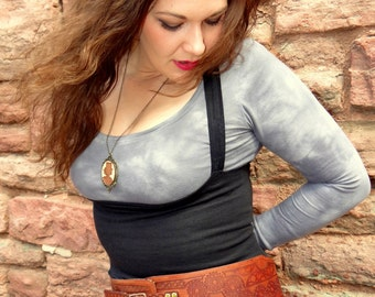 Steampunk Leather Belt Large