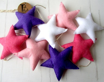 Decorative Garland / Baby personalized garland / Baby garland / Custom garland / Star garland