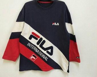 Vintage Fila International Sweatshirts