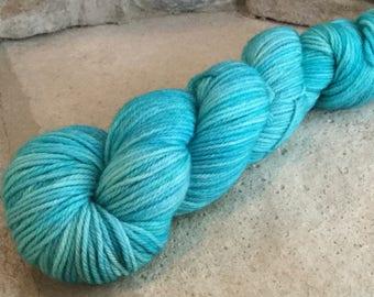Superwash Merino Worsted Weight Yarn - Kettle Dyed Tonal - approx. 218 yards - 100 grams - LANIKAI