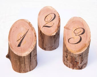 Large Wooden Table Numbers, Cafe Table Numbers, Wedding Table Numbers, Rustic Table Numbers, Rustic Wedding Table Numbers