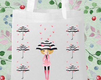 Rainy Printed Eco Bag