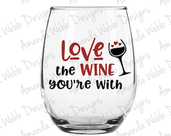 Download Love the wine | Etsy