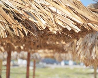 Aruba beach umbrella-beach photography-sand-ocean photography- vacation photo - Original fine art photography prints - FREE Shipping
