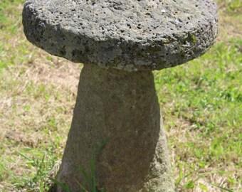 Garden Staddle Stone