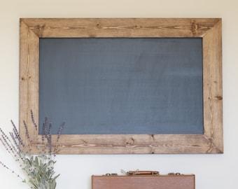 Rustic Wooden Chalkboard, Framed Chalkboard, Birthday Chalkboard, Kitchen Chalkboard, Farmhouse Decor, Rustic Home Decor, Chalkboard Sign