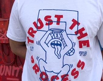 Trust The Process Shirt - Sixers Shirt - 76ers Shirt - NBA Shirt - Philadelphia Shirt - Philly Shirt - Basketball Shirt