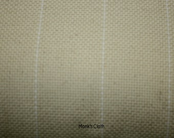 Cotton Monk's Cloth for Rug Hooking and Oxford Rug Punch One Yard