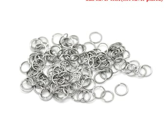 1000pcs 3.5mm 304 Stainless Steel Jump Rings (B201a)