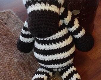 Crocheted Critter - Zebra