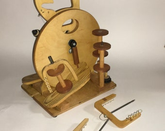 The MerlinTree Hitchhiker used DT spinning wheel