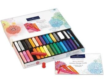 Faber Castell GELATOS Mix & Match Gift Set 34 pk -Free US Shipping!!!