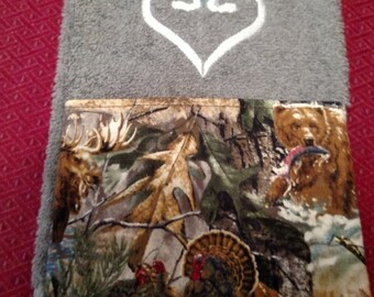 Buck and Doe Hand Towel
