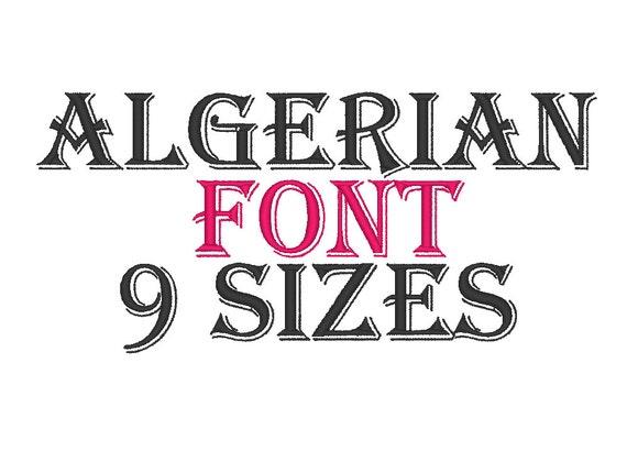 Image result for download Algerian font