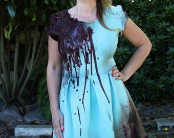 Zombie cosplay dress costume