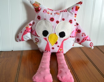 Circus Owl Stuffed Animal Decoration Toy