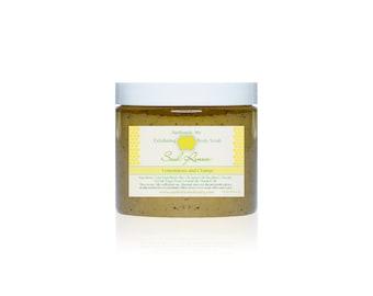 SOUL RENEW Lemongrass, Orange and Poppy Seed Body Scrub