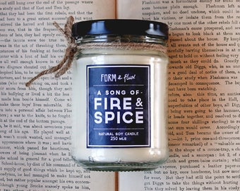 Fire & Spice, A song of - Jam Jar Candle