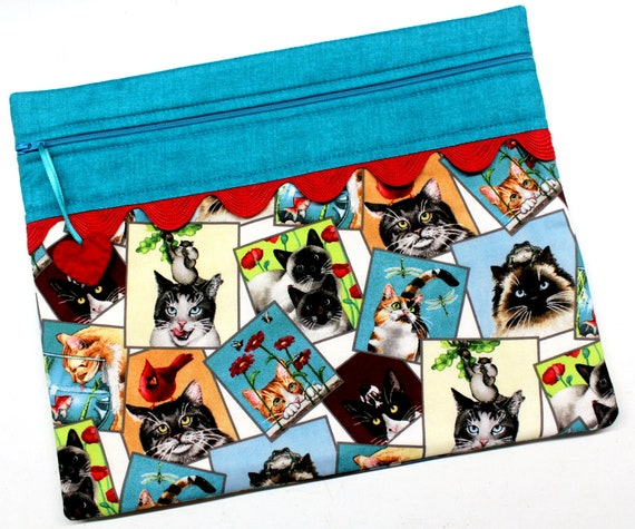 Cat Shenanigans Cross Stitch Project Bag