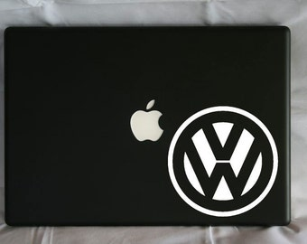"Volkswagen ""VW"" Bug Logo Vinyl Decal"