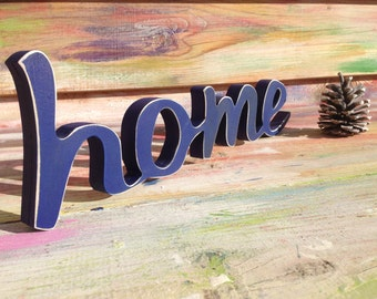 Home Decor- Wooden Home Sign