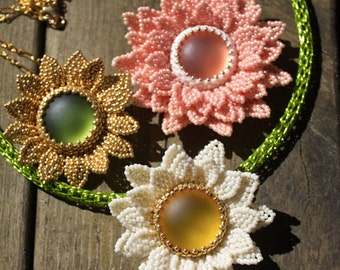 TUTORIAL - Liisa, DIY pendant with seed beads