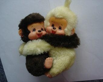 Vintage couple fluff Kiki (16cm) entwined TBE