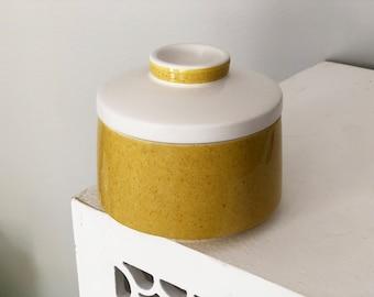 Vintage Mikasa Yellow Medeterrania Sugar Bowl
