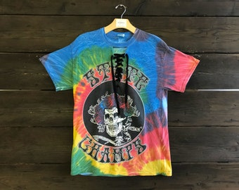 Vintage Reworked Tie Dye State Champs Tee