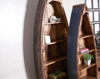 Wood Boat Shelf