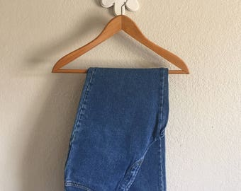 Women's Size 8 - Vintage 90s Classic Wash Faded High-Rise Jeans ~ WilliWear