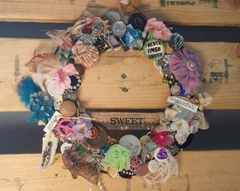 Sweet memories wreath