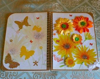 Handmade Embelished A5 Notebook