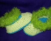 slippers with fluff edging