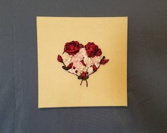 Bouquet Heart of Flowers