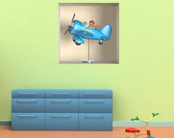 Wall decals 3D illusion A459 - Stickers 3D illusion A459