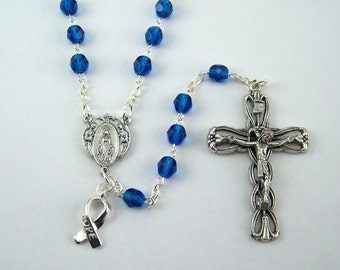 Blue Awareness Rosary