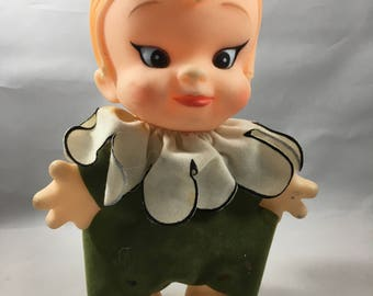 Vintage 1977 Udco Rubber Pixie Doll - Super Cute!