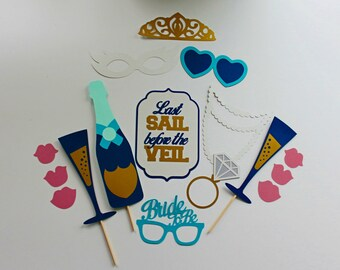 Last Sail Before The Veil Photo Booth Prop Collection