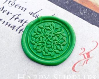 Buy 1 Get 1 Free - Wax Seal Stamp - 1pcs Lush Leaves Metal Stamp / Wedding Wax Seal Stamp / Sealing Wax Stamp (WS461)