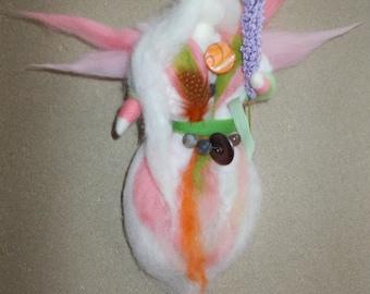 Wool fairy (Waldorf inspiration)