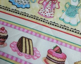 APRONS CAKES CUPCAKES Potholder, Hot Pad, Kitchen