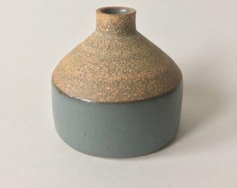 Dark Gray Bud vase #19