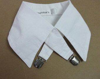 White Cotton Collar