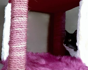 Princess Cat Kubby | Stacking cat cubbies | Cat tree
