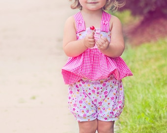 The Butterscotch Bloomers - newborn-4y PDF Pattern