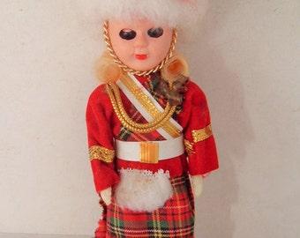 Dolls From Around the World Vintage Scottish Doll pretty little lassie