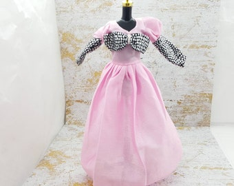 Barbie Pink Gown  fashions Outfit 11 inch doll