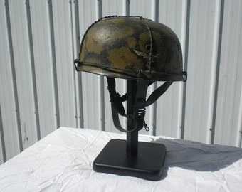 German Helmet m38 Falschirmjagger (painted and aged replica)